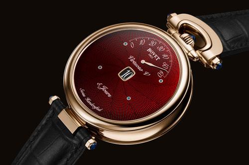 【北京播威维修】Bovet Virtuoso V手表的新红色表盘(图)